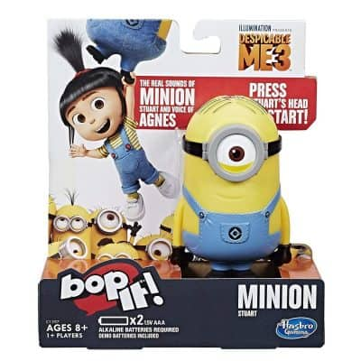 Hasbro Gaming Bop It! Despicable Me Edition Game