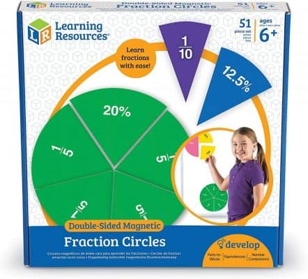 Learning Resources Double-Sided Magnetic Fractions