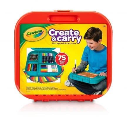 Crayola Create 'N Carry 75Piece Art Kit