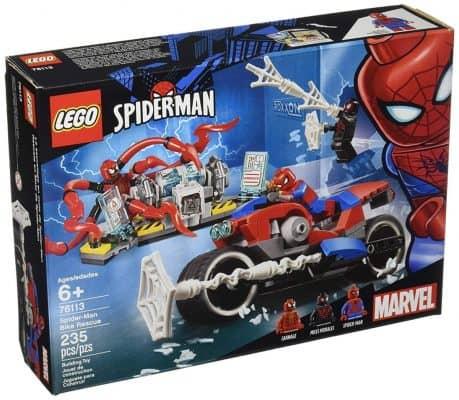 LEGO 6251072 Marvel Spider-Man Bike Rescue 76113 Building Kit