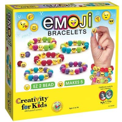 Creativity for Kids – Emoji Bracelets