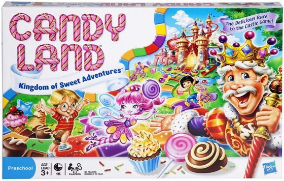 Hasbro Gaming Candy Land – Kingdom of Sweet Adventures