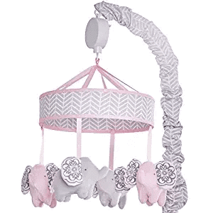 Wendy Bessilimo Baby Mobile Musical-Elephant Mobile