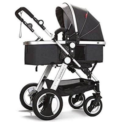 Belecoo Convertible Baby Stroller