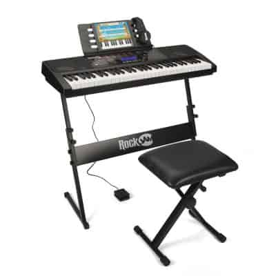 RockJam RJ761 61 Key Electronic Piano Keyboard