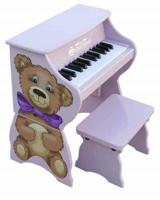 Schoenhut 9258TB - 25 Key Teddy Bear Piano Pal