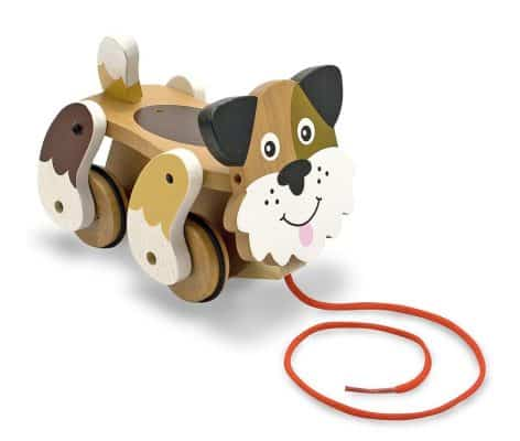Melissa & Doug Playful Puppy Wooden Pull Toy