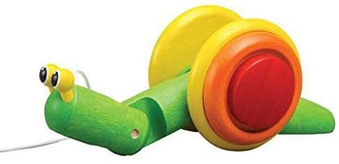 Plan Toy Pull-Along Snail