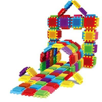 Dimple 324Piece Set Interconnecting Stacking Building Toys