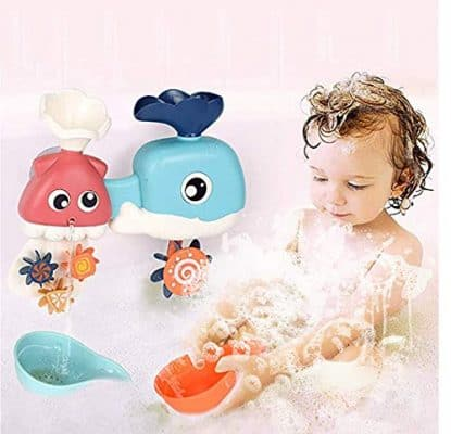Ancaixin Baby Bath Toy Waterfall Tub Games for Toddlers