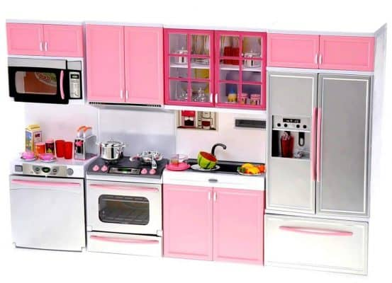 Power TRC Kids Battery Operated Kitchen Playset