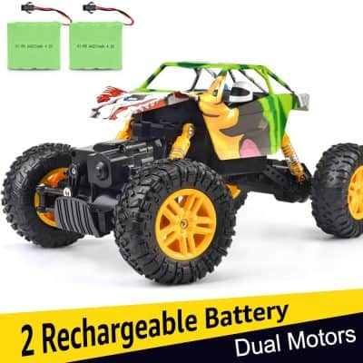 Double E Rechargeable 1:18 4WD Monster Truck Rock Crawler