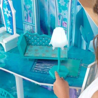 KidKraft Disney Frozen Ice Crystal Palace Dollhouse