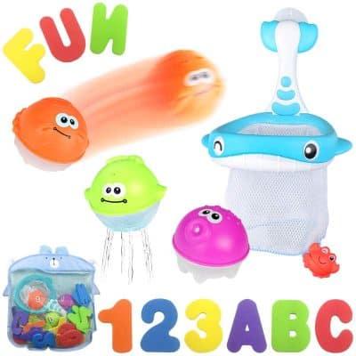 MoraBaby Bath Toys Set