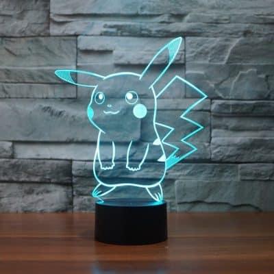 Pokemon Pikachu 3D LED Night Light