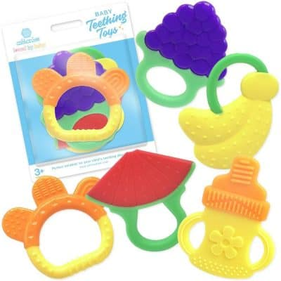 Ashtonbee Silicone Baby Teething Toys