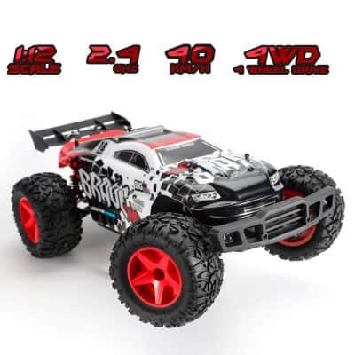 Koowheel RC 1:12 Scale 4WD High-Speed Remote Control Car