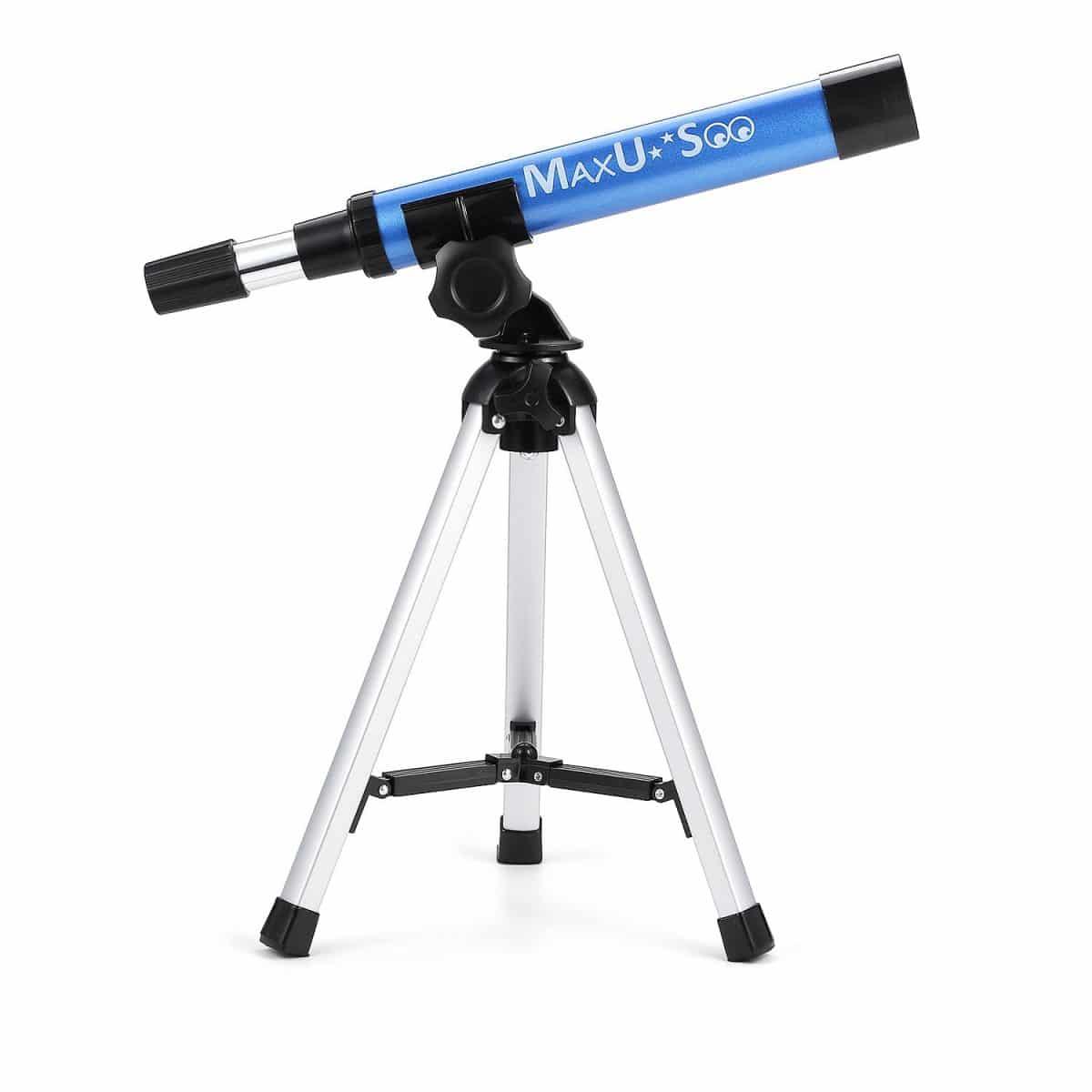 8 Pack Kids Black Plastic 10 Toy Pirate Telescopes