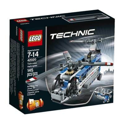 LEGO Technic Twin-Rotor Helicopter Model Kit
