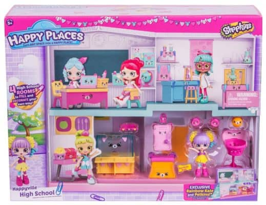 Shopkins Happy Place Happyville High School Playset