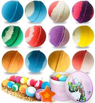 Stntus Innovations Handmade Organic Spa Bubble Bombs Set