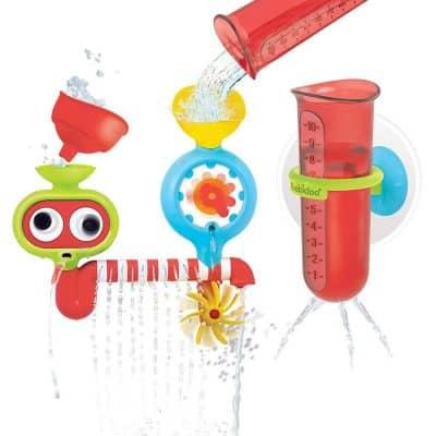 Yookidoo Baby Bath Toy - Spin 'N' Sprinkle Water Lab