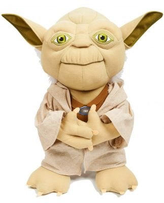 "Underground Toys Star Wars 15"" Talking Plush – Yoda"