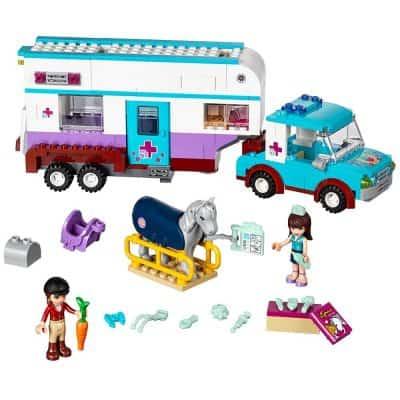 LEGO Horse Vet Trailer Building Kit