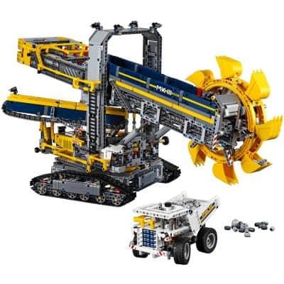 LEGO Technic Bucket Wheel Excavator Construction Toy