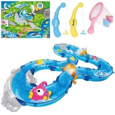 iBaseToy Fishing Game Toddler Toys Set