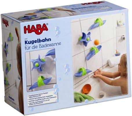 Haba Bathtub Ball Track - 6 Piece Play Set