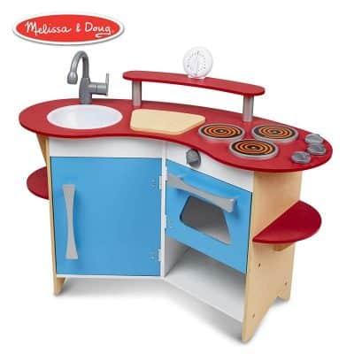 Melisa & Doug Cook's Corner Wooden Pretend Play Toy