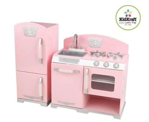 KidKraft Retro Kitchen and Refrigerator