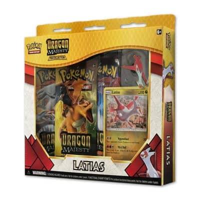 Pokemon TCG: Dragon Majesty Pin Collection Box – Latias