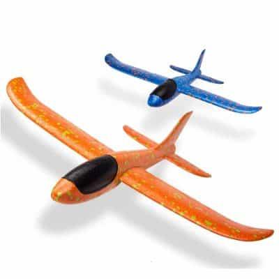 WATINC 2pcs 13.5inch Airplane Toy