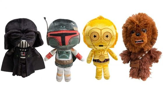 Star Wars Funko (Set of 4) Galactic Plushies