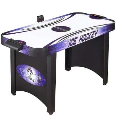 Hathaway Hat Trick 4-Ft Air Hockey Table for Kids and Adults