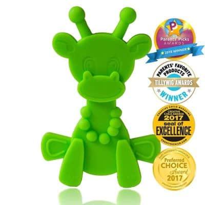 Little Bambam Giraffe Teether Toys by Bambeado