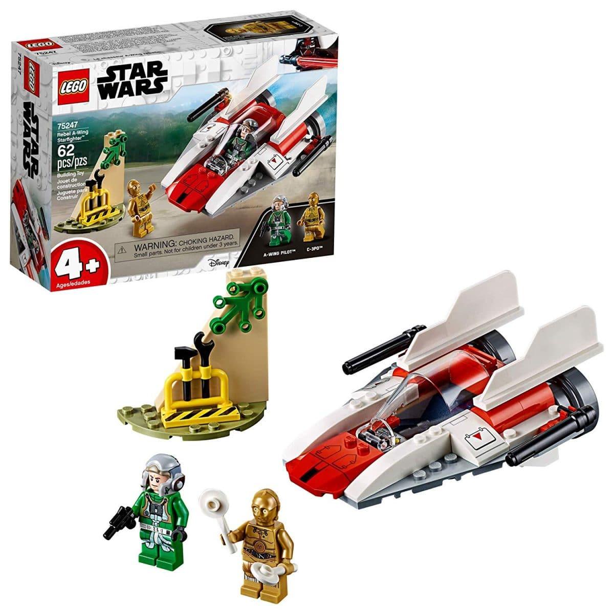 Lego UK 75208 Star Wars yodas Hut Star Wars Jouet