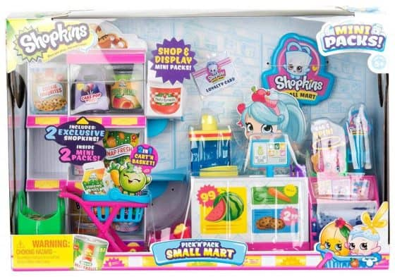 Shopkins Small Mart Playset Children's' Toy