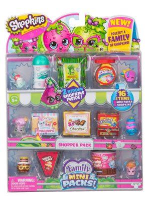 Shopkins New Families in Collectible Mini Pack