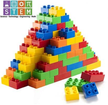 Prextex 150 Piece Classic Big Building Blocks