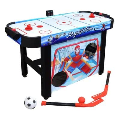 Hathaway Rapid Fire 3-in-1 Air Hockey Multi-Game Table