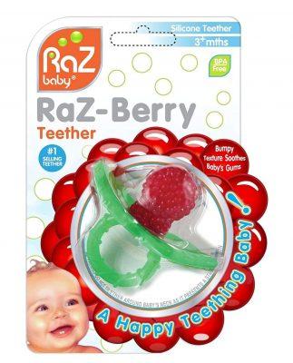 RaZbaby Raz-Berry Silicone Teether
