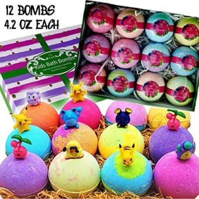 Purelis Natural Bath Bomb Gift Set