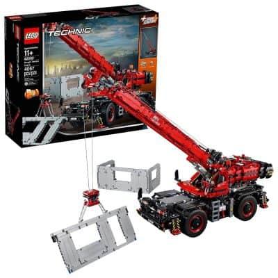 LEGO Technic Rough Terrain Crane Building Kit