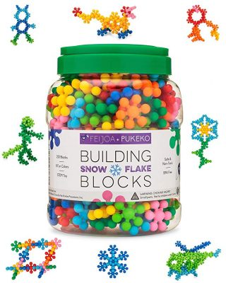 Feijoa + Pukeko Building Blocks Set for Preschool