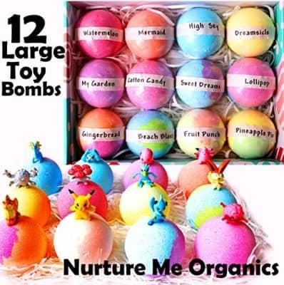 Nurture Me Organics Kids Bath Bombs Gift Set