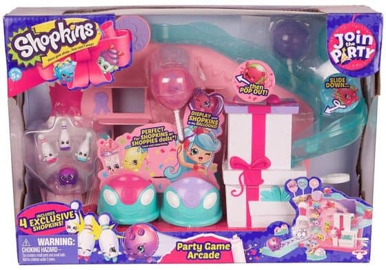 Shopkins Join the Party Large Playset – Party Game Arcade