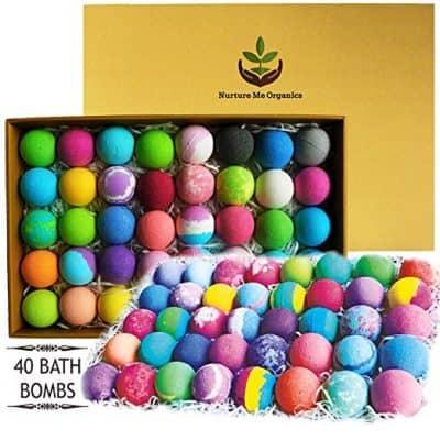 Nurture Me Organics Natural Bath Bombs Gift Set